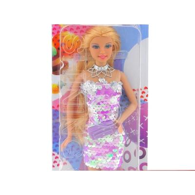 Lalka Adar 29 cm, sukienka w cekinki (508163)
