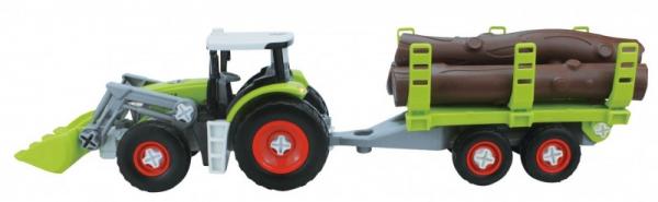 Pojazd Traktor do skręcania w pudełku (02716)