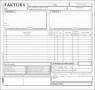 Druk samokopiujący Stolgraf faktura VAT 2/3 A4 brutto 2/3 A4 100k. (F16)