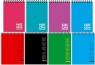 Kołonotes A5 w kratkę 48 kartek mix okładek