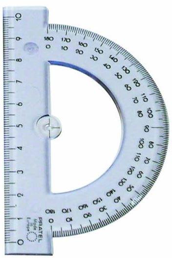 Kątomierz 10 cm 180° (206 PR)