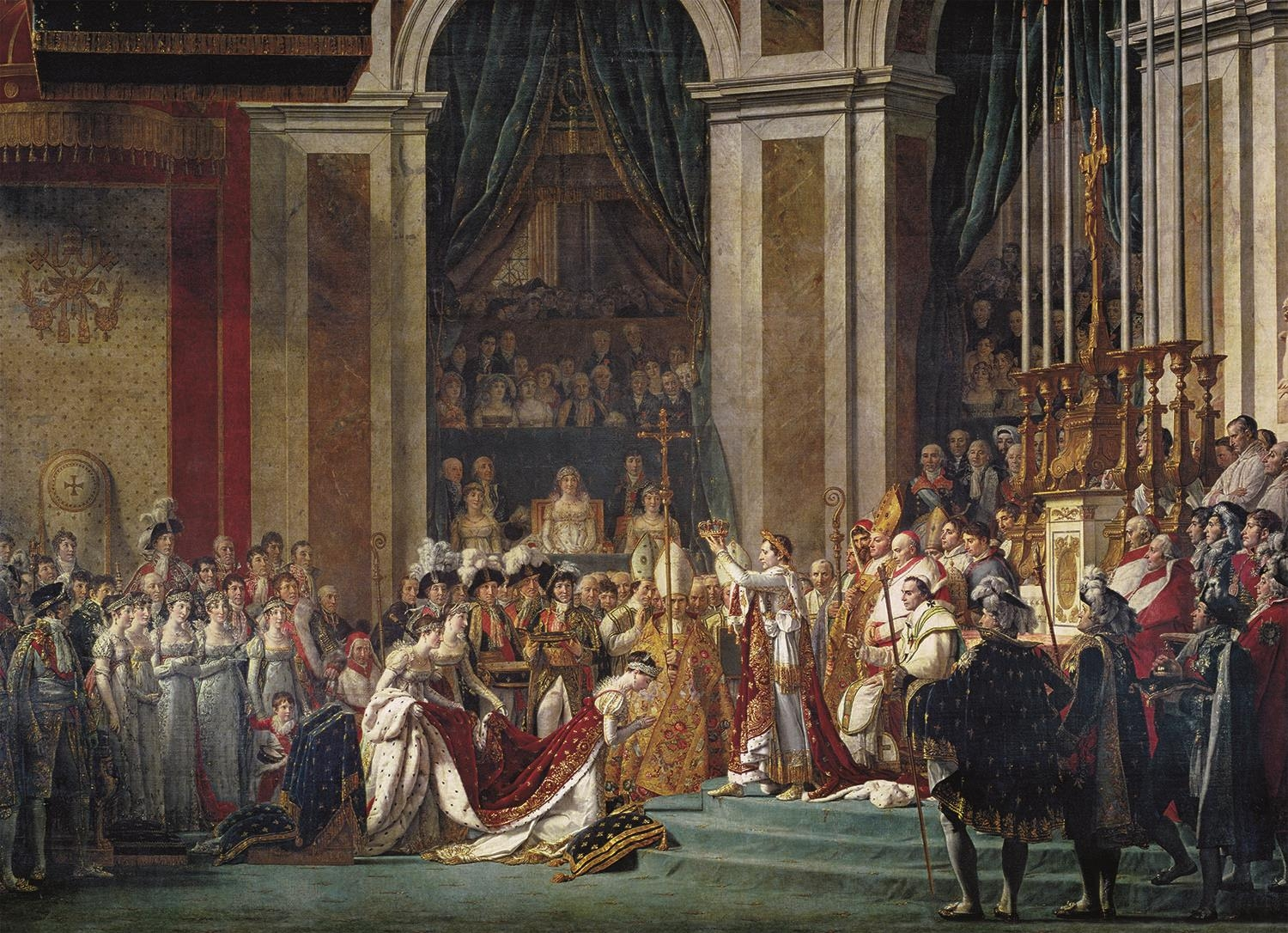 Puzzle Museum Collection 1000: Jacques Louis David, The Consecration of the Emperor Napoleon I (31416)