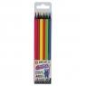 Kredki ołówkowe Fun&Joy trójkątne, 6 kolorów (393885)