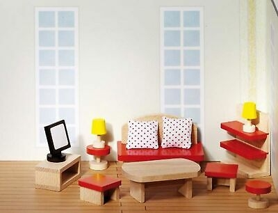 Salon do domku dla lalek (GOKI-51716)