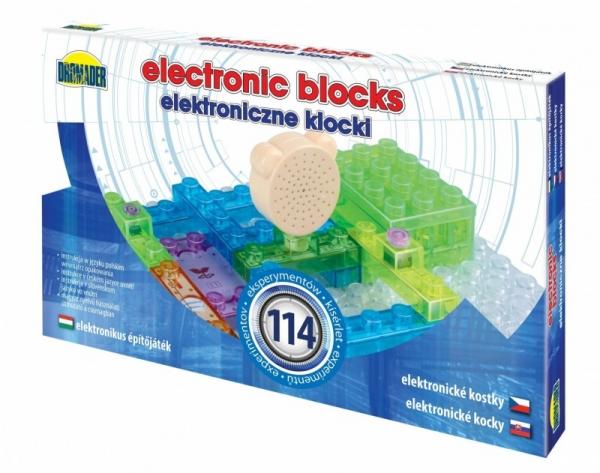 Elektroniczne klocki 114 elementów