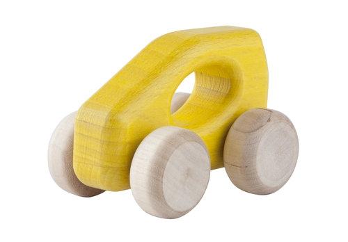 Samochodzik A-Class żółty