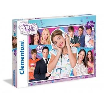 Clementoni Puzzle 500 el. Violetta i przyjaciele (30416) .
