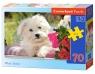 Puzzle  White Terrier 70 elementów (007165)