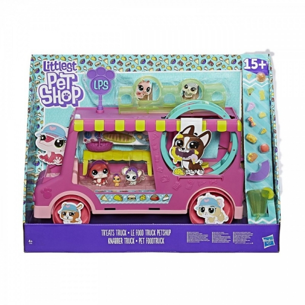 Figurki Littlest Pet Shop Food Truck (E1840P)