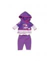 Ubranko dla lalek Baby born Casuals fioletowy (822166)