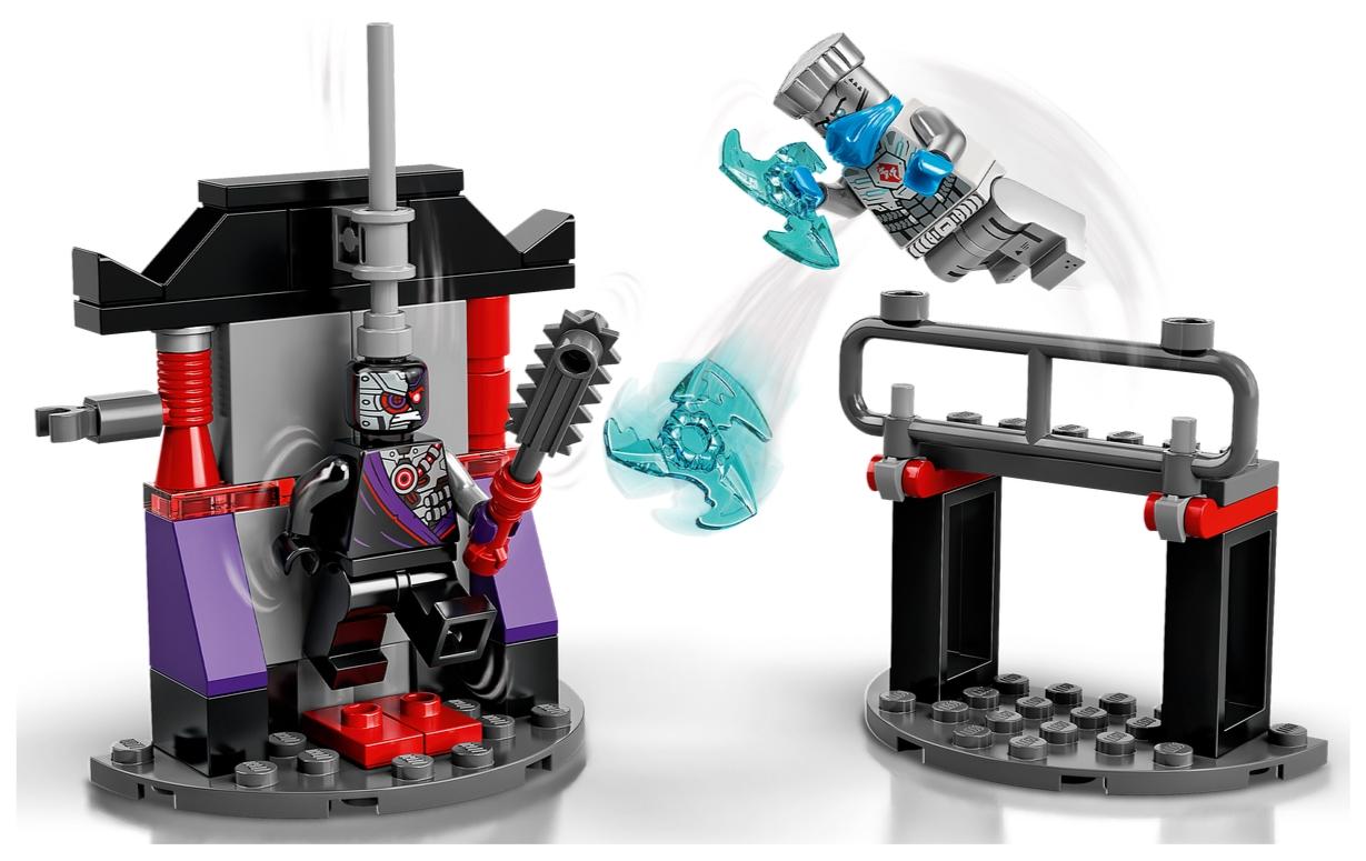 Lego Ninjago: Epicki zestaw bojowy - Zane kontra Nindroid (71731)