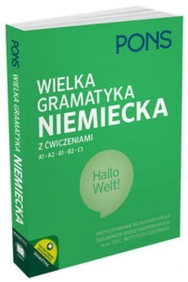 Wielka gramatyka niemiecka z ćwiczeniami (Uszkodzona okładka)