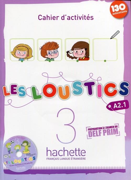 Les Loustics 3 A2.1 Zeszyt ćwiczeń z płytą CD Denisot Hugues, Capouet Marianne
