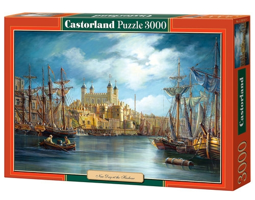 Puzzle New Day at the Harbour 3000 (300167)