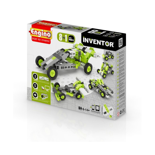 ENGINO Inventor 8 models cars (0831)
