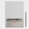 Notatnik A4 Leuchtturm1917 w kratkę biały 339922