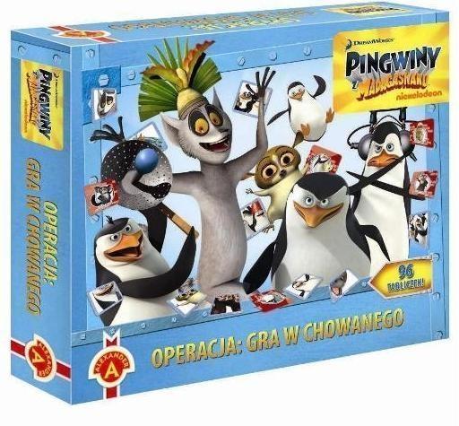 Operacja gra w chowanego Pingwiny z Madagaskaru  (1416)