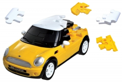 Puzzle 3D CARS - Mini Cooper - poziom 4/4 G3