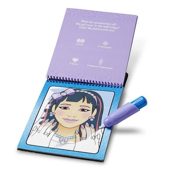 Kolorowanka Water Wow! - Makijaż i manicure (MD19416)