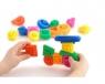 Klocki magiczne kształty 55 elementów