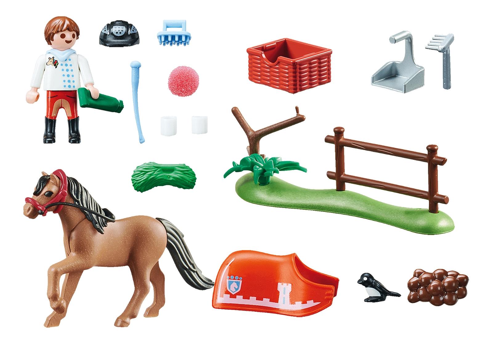 Playmobil Country: Kucyk do kolekcjonowania