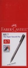 Długopis Faber-Castell RX7 czarny 10 sztuk