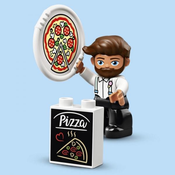 Lego Duplo: Stoisko z pizzą (10927)