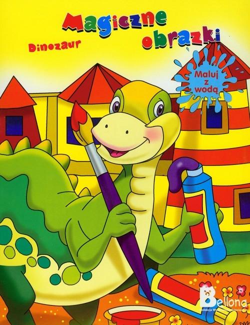 Magiczne obrazki Dinozaur