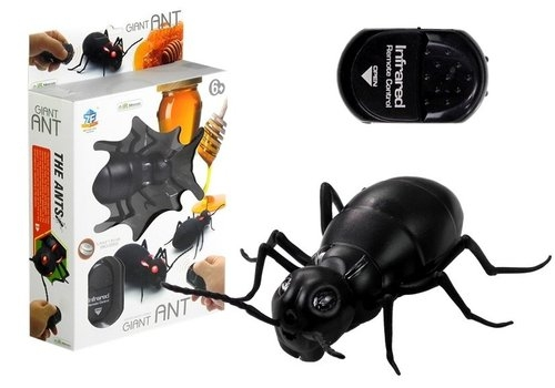 Wielka mrówka insekt zdalnie sterowany czarny
