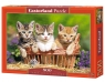 Puzzle Three Lovely Kittens 500 (51168)