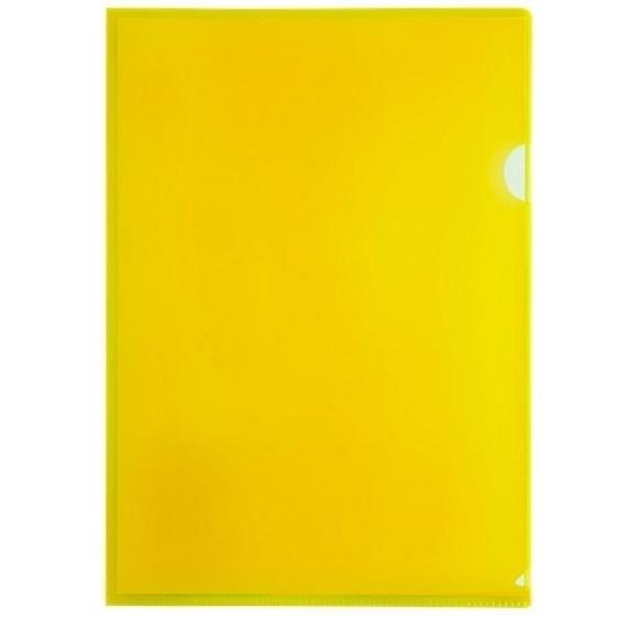 Obwoluta, ofertówka A4 Tetis, 12 szt. - żółta (BT615-Y)
