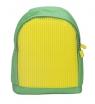 Plecak dla dzieci Pixelbags zielono-żółty  (WY-A012-KF)