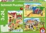 Puzzle Schmidt 3x24 Praca na wsi