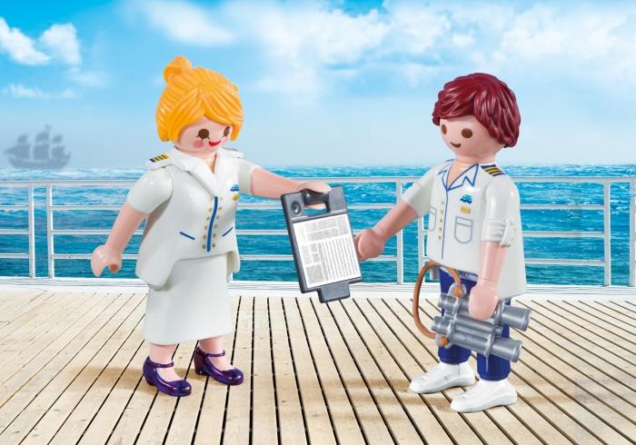 Duo Pack Stewardesa i oficer (9216)