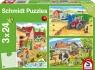Puzzle 3x24: Praca na wsi (106591) Wiek: 3+