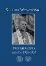 Pro memoria Tom 4: 1956-1957