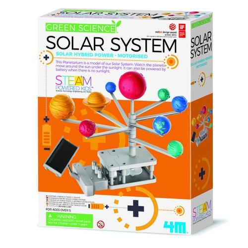 Hybrydowa inżynieria słoneczna- planetarium