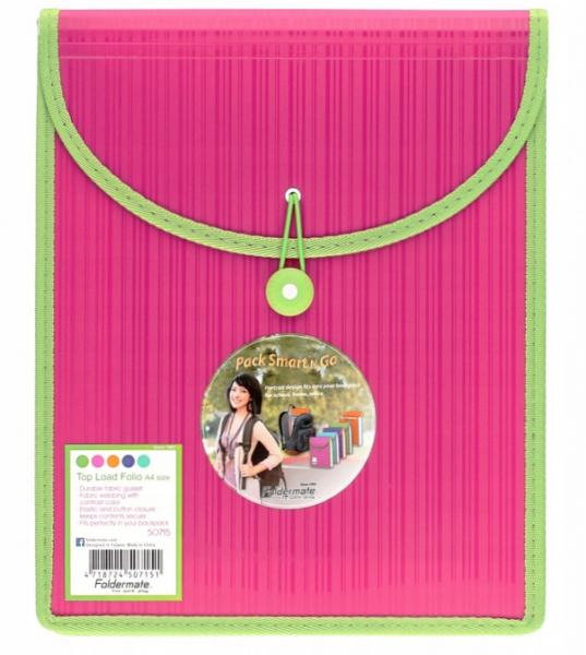 Foldermate, teczka A4 różowa (CB-50719)