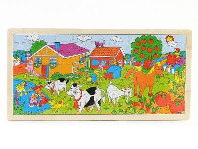 Układanka Puzzle - Farma 45x22x0,5