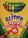 Kredki brokatowe Crayola 16 kolorów (52-3716)