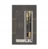 Komplet 2019 IM czarny GT - pióro wieczne + długopis (P-2093216)