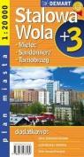 Sandomierz / Stalowa Wola / Tarnobrzeg plus 3 Plan miasta praca zbiorowa