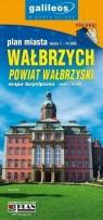 Mapa - Powiat Wałbrzyski 1:45000/Wałbrzych 1:14000