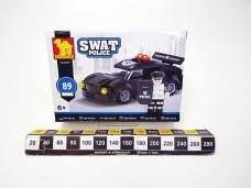 Klocki plastikowe Dromader Policja samochód 32 elementy (130-23316)
