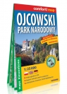 Ojcowski Park Narodowy kieszonkowa laminowana mapa turystyczna 1:25 000