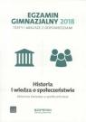 Egzamin gimnazjalny -Testy hist. i WOS 2018 OPERON