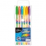 Długopisy Kidea żelowe fluorescencyjne 6 kolorów