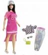 Barbie Fashionistas. Lalka z ubrankami 1