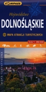 Województwo Dolnośląskie Mapa Atrakcji Turystycznych 1:250 000