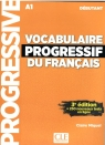 Vocabulaire progressif du Francais niveau debut A1 + CD 3ed